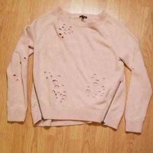 5/$10 Medium light pink sweater